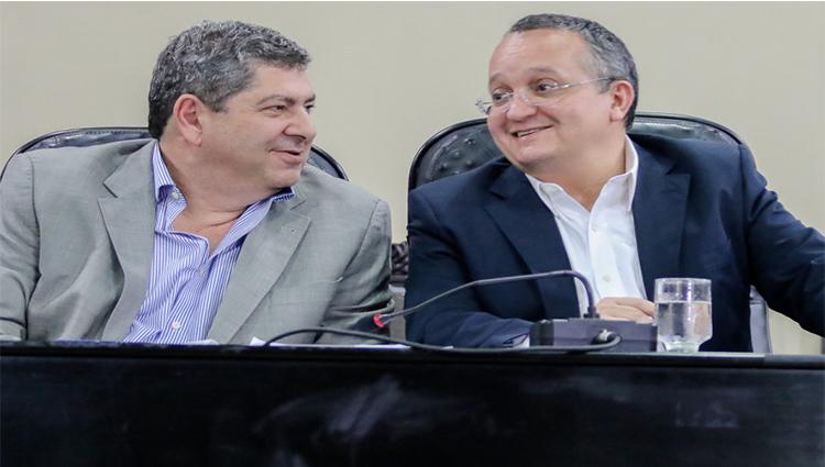 Guilherme Malouf e Pedro Taques