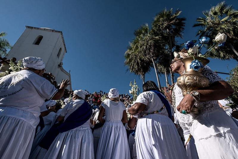 Lavagem das Escadarias das igrejas do Rosário e São Benedito acontece neste sábado