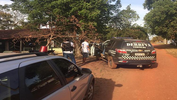 Preso em operação contra o tráfico era procurado por roubo de veículos