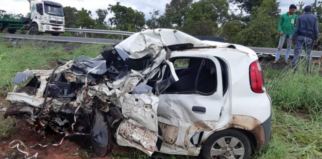 dois mortos acidente BR_070