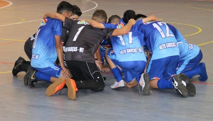Jogos estudantis em Cáceres