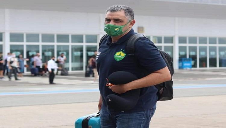 Marcelo Chamusca aeroporto